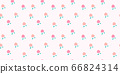 Hand drawn peach fruit seamless pattern 66824314