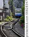 Enoden 1000 type [Kamakura City, Kanagawa Prefecture] Hase in early summer 66828347
