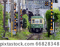 Enoden Type 300 [Kamakura City, Kanagawa Prefecture] Hase Station in early summer 66828348