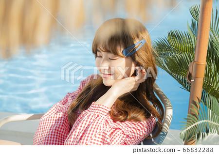 美容,度假,女人 66832288