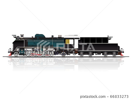 steam locomotive 66833273