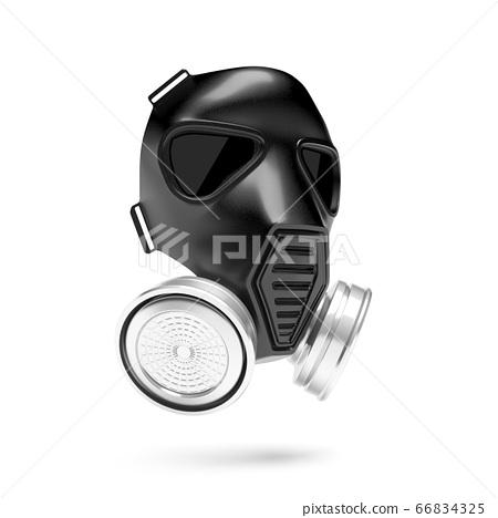 Gas mask. 3d rendering illustration 66834325