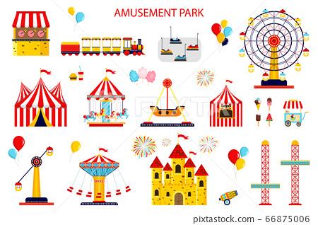 Amusement park collection. 66875006