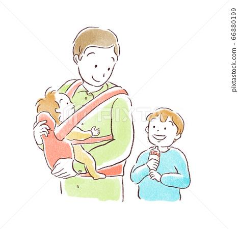 Ikumen / men raising children 66880199