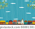 綠色和城市景觀 66881381