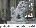 守護犬的石像(Agata像)(山內神社/高知縣高知市高所町2-4-65) 66885664