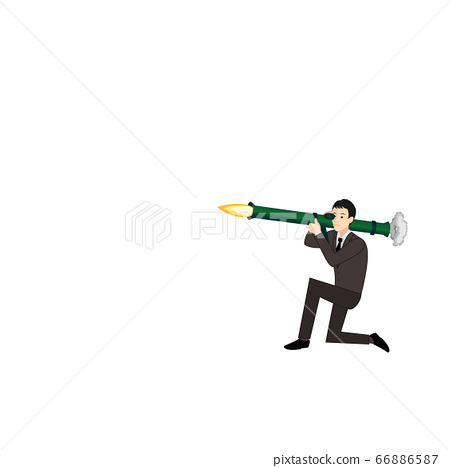 上班族發射火箭炮大砲(僅限人) 66886587