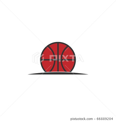 basketball vector design template illustration 66889204