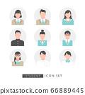 不同的学生变化图标 66889445
