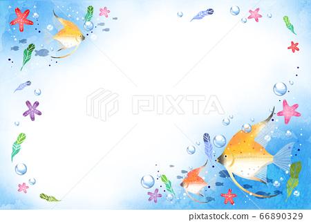 Summer refreshing sea texture 66890329