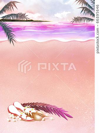 Summer beach 66895646