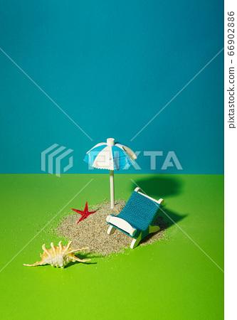 遮陽傘,沙灘椅 66902886