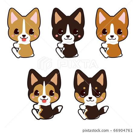 粘性動物(柯基犬) 66904761