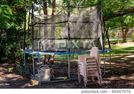 Backyard Decaying Trampoline 66907078