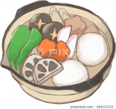長崎美食原料zoni 66913318