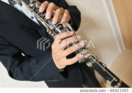 Clarinet performance 66921405