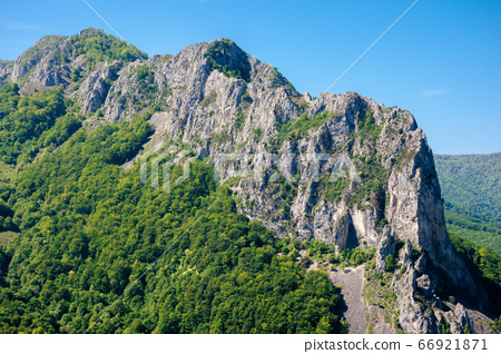 rocks and cliff of romania gorges. beautiful 66921871