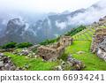 Machu Picchu, a Peruvian Historical Sanctuary. One 66934241
