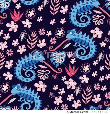 Chameleon pattern 12 66934680