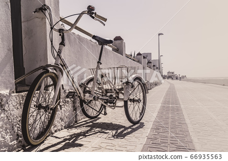 Tricycle for adults with on the street 66935563