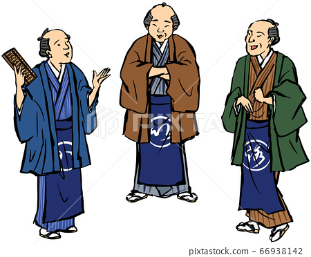 日式圍裙商人 66938142