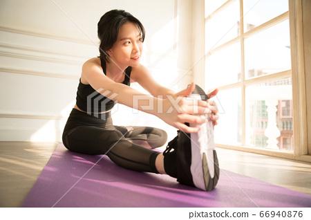 여성 스포츠 건강 66940876