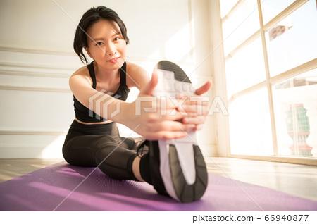 여성 스포츠 건강 66940877