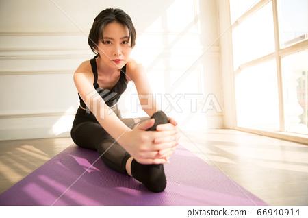 여성 스포츠 건강 66940914