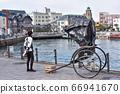 Rickshaw in Mojiko 66941670