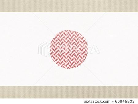 日式背景素材-日式-日丸 66946905