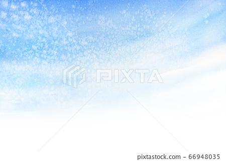 秋天的天空鱗片水彩插圖 66948035
