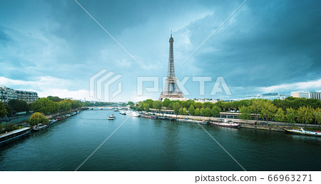 Eiffel tower in Paris. France 66963271