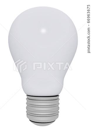 Light bulb isolated on white background 66963675