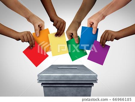 LGBT Community Vote 66966185