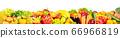 Isolated on white background fruits 66966819