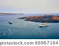 Cruise ships and tourist boats in sea 66967164
