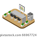 isometric conference room 66967724