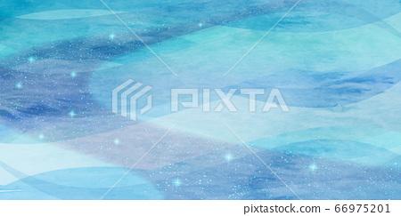 여름 안부 바다 은하수 배경 66975201
