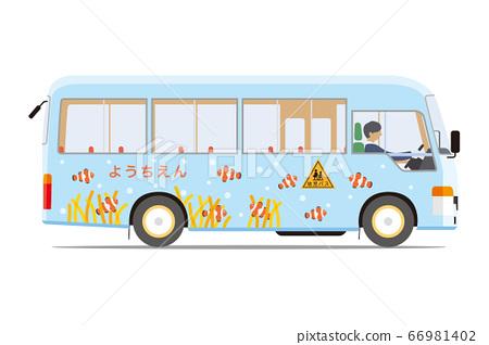 幼兒園穿梭巴士(側身) 66981402
