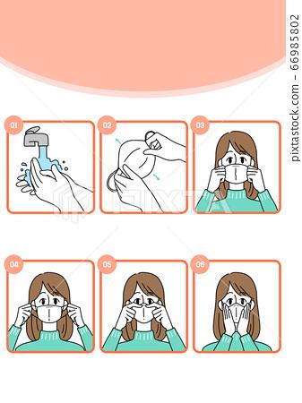 Preventive measures against the virus illustration 017 66985802