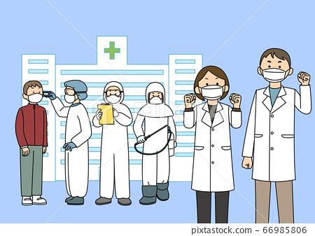 Preventive measures against the virus illustration 008 66985806