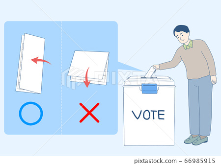 Elections voting concept with voting symbols illustration 009 66985915