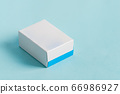 Handmade mock up paper box for package products 66986927