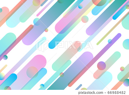 Abstract pastel colorful gradient line pattern artwork background.  66988482