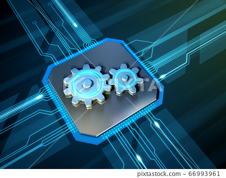 Circuit and gears 66993961