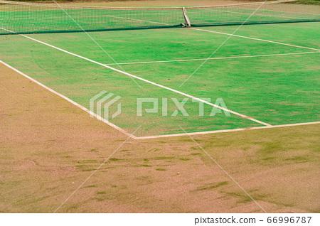 Nobody's Tennis Court 66996787