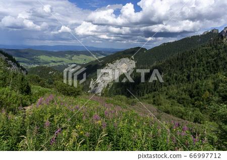 Picturesque landscape of Belianske Tatry Mountains 66997712