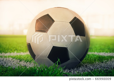 used Classic black and white soccer ball on 66998009