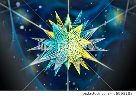 Abstract kaleidoscope background. Beautiful 66998188