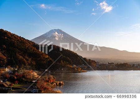 Aerial Panorama Landscape of Fuji Mountain. Iconic 66998336